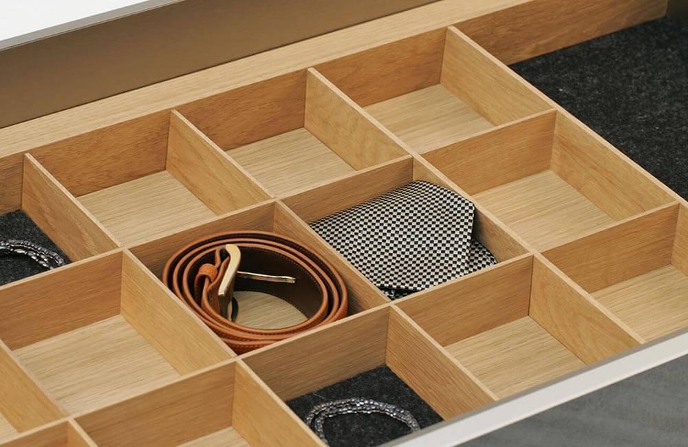 Ordnungssystem aus Holz